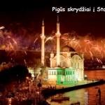 Sutik Naujus Metus Stambule! Pigūs bilietai iš Vilniaus vos nuo 115 EUR į abi puses!