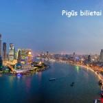 Super hitas! Pigūs bilietai iš Briuselio į Šanchajų, Kinija – tik 94 EUR į abi puses!