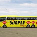 Super Hitas! Simple Express ir Lux Express autobusų bilietai po 0,50 EUR!!!