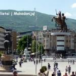 Pigūs bilietai spalio mėn į Makedoniją iš Vilniaus!