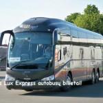 Super Hitas! Lux Express autobusų bilietai po 0,50 EUR!!!