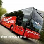 Super Hitas! PolskiBus autobusų bilietai po 0,25 EUR kelionėms iš Vilniaus!!!