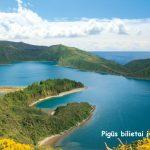 Super pasiūlymas! Pigūs bilietai į Azorų salas, Portugalija iš Frankfurto – vos už 75 EUR!
