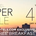 40% nuolaida daugumai Accor tinklo viešbučių visame pasaulyje!