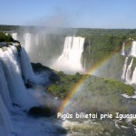 Super hitas! Pigūs bilietai į vieną gražiausių vietų Žemėje – Iguazu krioklius, tik 351 EUR į abi puses!