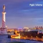 Pigūs bilietai į Belgradą, Serbija iš Vilniaus – tik 97 EUR į abi puses!