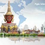 """Pigūs bilietai su """"KLM"""" bei """"Air France"""" iš Varšuvos į Bankoką, Tailandas – tik nuo 350 EUR!"""
