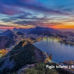 Super! Pigūs tiesioginiai skrydžiai iš Varšuvos į Rio de Žaneirą, Braziliją – tik 372 EUR į abi puses!
