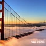Super pasiūlymas! Pigūs bilietai į San Franciską, JAV iš Stokholmo – vos nuo 240 EUR už tiesioginius skrydžius į abi puses!