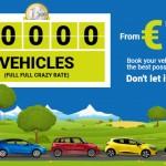 Neįtikėtina! Automobilio nuoma – vos nuo 1 EUR per dieną! Platus nuomos datų ir šalių pasirinkimas!