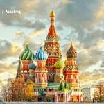Oho! Pigūs bilietai iš Rygos į Maskvą, Rusija – vos nuo 64 EUR į abi puses!