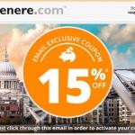 Wow! Net 15% nuolaidos kodas viešbučių rezervacijoms per Venere internetinę svetainę!