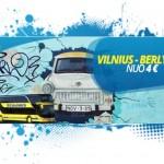 Super hitas! Ecolines autobusų bilietai į Berlyną, Vokietija iš Vilniaus – vos po 4 EUR!