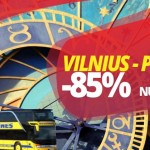 Super hitas! Ecolines autobusų bilietai į Prahą, Čekija iš Vilniaus – vos po 5 EUR!