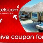 10% nuolaidos kodas viešbučių rezervacijoms per Hotels.com svetainę!