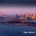 Super! Tiesioginiai skrydžiai iš Barselonos į San Franciską, JAV – tik 244 EUR į abi puses!