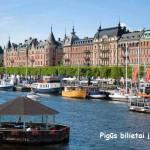 Super Hitas! Pigūs bilietai į Stokholmą, Švedija iš Kauno – vos nuo 4 EUR į abi puses!