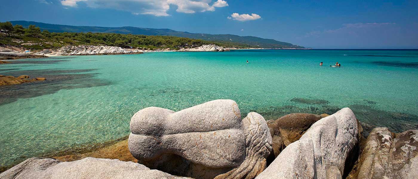 Chalkidikės pusiasalis - viena gražiausių ir ekologiškai švariausių Graikijos vietų