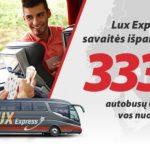 """Super Hitas! """"Lux Express"""" autobusų bilietai iš Kauno bei Vilniaus į Varšuvą bei Suvalkus – vos nuo 1 EUR!"""