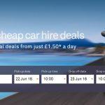 Neįtikėtina! Automobilio nuoma Ispanijoje – vos nuo 1 EUR per dieną!