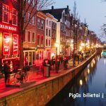 Pigūs bilietai į Amsterdamą, Nyderlandai, tiesiogiai iš Varšuvos – vos nuo 75 EUR į abi puses!