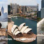 Trys viename: pasiūlymas gyvenimo kelionei – Honkongas, Sidnėjus ir Singapūras vienos kelionės metu vos už 538 EUR!!!
