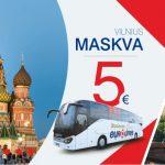 """Neblogai! """"Eurolines"""" autobusų bilietai iš Vilniaus į Maskvą – vos nuo 5 EUR į vieną pusę!"""
