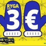 """""""Ecolines"""" pigūs autobusų bilietai į Rygą iš Vilniaus ir Kauno – vos po 3 EUR!"""