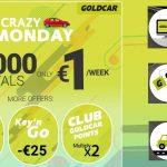 Neįtikėtina! Automobilio nuoma Ispanijoje ir Portugalijoje – vos nuo 1 EUR per dieną!