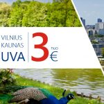 """Biznio klasės """"Eurolines"""" autobusų bilietai iš Kauno bei Vilniaus į Varšuvą ir atgal – vos po 3 EUR!"""
