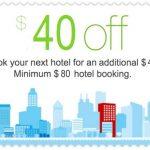 Nuostabus Booking.com pasiūlymas – atgaukite net 40 USD nuo 80 USD ar didesnės viešbučio rezervacijos!
