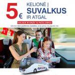 """""""Eurolines"""" autobusų bilietai iš Kauno bei Vilniaus į Suvalkus ir atgal – vos už 5 EUR į abi puses!"""