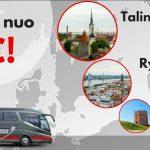 """""""Lux Express"""" autobusų bilietai iš Vilniaus į Rygą bei Taliną – vos nuo 5 EUR!"""