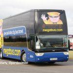 Megabus UK super išpardavimas: vos £1 kainuojantys autobusų bilietai po visą Didžiąją Britaniją!