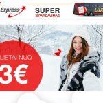 """Čiupkit, kol yra! """"Lux Express"""" autobusų bilietai iš Kauno bei Vilniaus į Varšuvą – vos už 3 EUR!"""