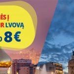 """""""Ecolines"""" autobusų bilietai į Kijevą bei Lvovą iš Vilniaus bei Kauno – vos po 8 EUR į vieną pusę!"""