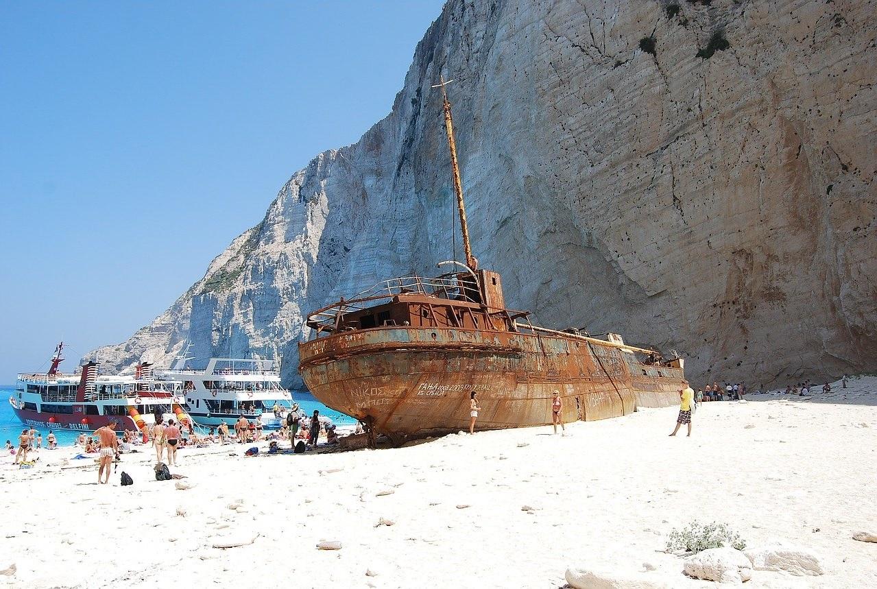 MV Panagiotis laivo nuolaužos