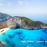 Pigūs bilietai į Zakinto salą Graikijoje – vos 75 EUR už tiesioginius skrydžius iš Vilniaus!